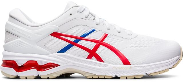 asics Gel Kayano 26 Retro Tokyo Schuhe Herren whiteclassic red